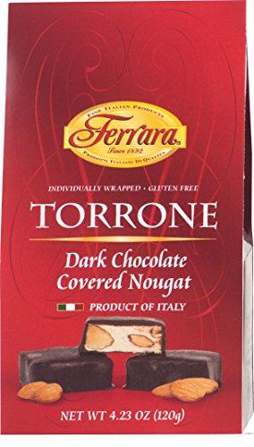 Ferrara Dark Chocolate Covered Honey Nougat Torrone 4.23 ...