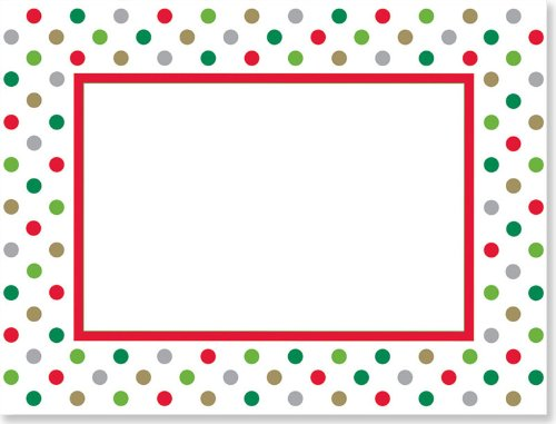 Holidots Photo Frame Cards (Christmas Cards, Holiday Cards ...