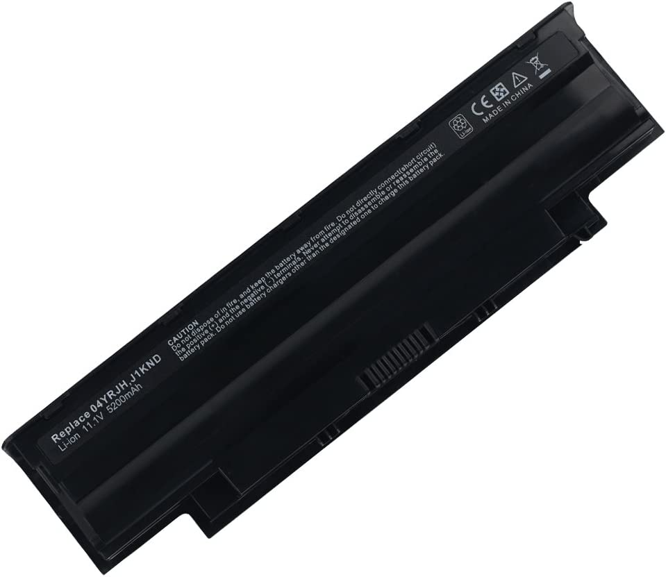 [6 Cell, 11.10V,5200mAh,Li-ion], Replacement Laptop Battery for Dell Inspiron N5030 Series, Inspiron N5030, Inspiron N5030D, Inspiron N5030R