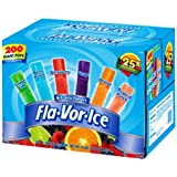 Flavor Ice Plus Assorted Flavors with Juice, 200-Count