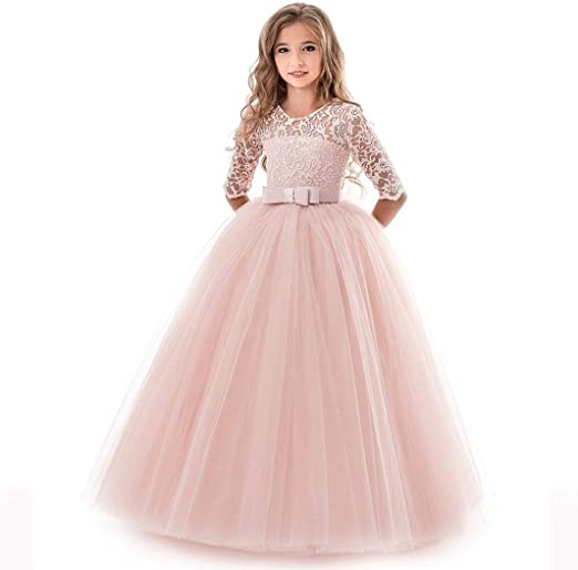 Girls Princess Dress 5-9 Years Old