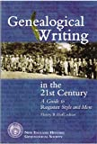 Genealogical Writing in the 21st Century 9780880821506
