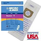 y vaccum bags - Hoover Vacuum Bags Type Y for Windtunnel Upright Microlined Bag 10 Pack
