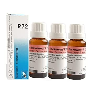 Amazon com: Dr Reckeweg Germany R72 Pancreas Drops Pack Of 3: Health
