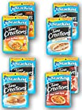 Starkist Tuna Creations Variety Pack of 8 Pouches delivered in a Resealable Container, Includes 4 Unique Flavors - (2) Hot Buffalo (2) Bacon Ranch (2) Honey BBQ (2) Thai Chili