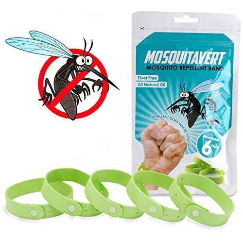 Mosquitavert Natural Mosquito Repellent Bracelets
