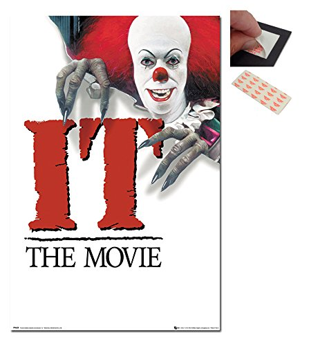 IT The Movie 1990 Classic Movie Poster - 91.5 x 61cms (36 x 24 Inches) ()