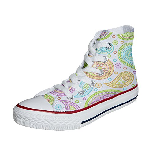 Converse All Star zapatos personalizados (Producto Artesano) Colorful Paisley