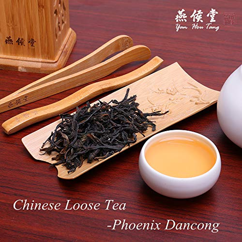Yan Hou Tang Chinese Phoenix Dan Cong Organic Oolong Tea Herbal Loose Leaf - 100g Orchid Refreshing Fragrance Licorice Tea for Health Weight Loss