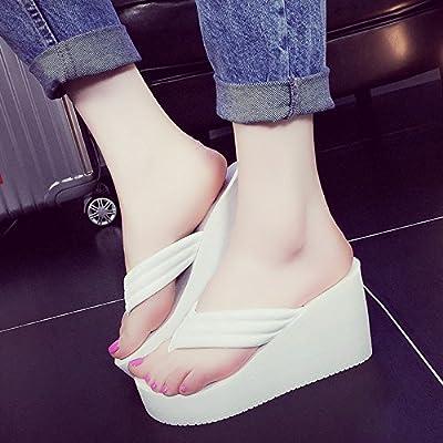 e83a606b592a FEI Mules 9CM high heels Female summer Non-slip Fashion beach ...