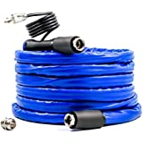 Camco 25' 25ft TASTEPure Heated Drinking Water Hose with Energy Saving Thermostat-Lead and BPA Free (22911)