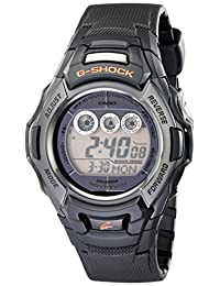 "Casio Men's GW-M500F-1CR ""G-Shock"" Stainless Steel Watch with Black Resin Band"