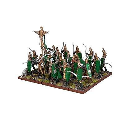 Kings Of War - Elves - Bowmen Regiment - Mantic Games by Agd