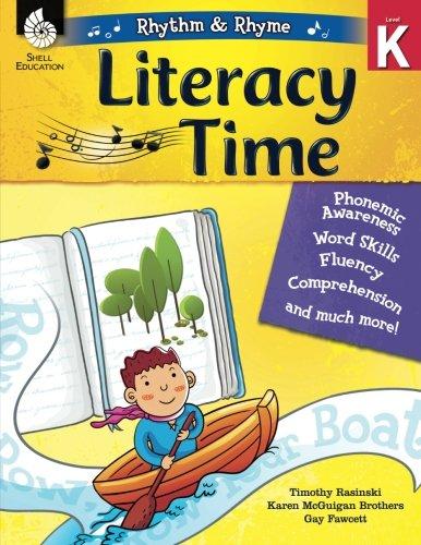 Rhythm & Rhyme Literacy Time Level K (Rhythm and Rhyme: Literacy Time)
