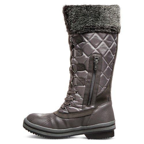 LaNeige Canada by Pajar Womens Maya Black Waterproof Snow Boots VjybgH