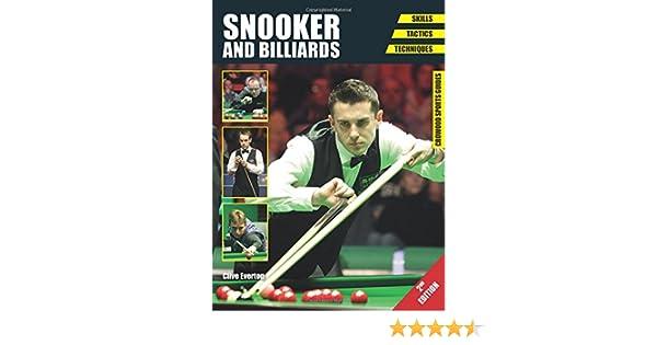 Snooker And Billiards Skills Tactics Techniques Crowood