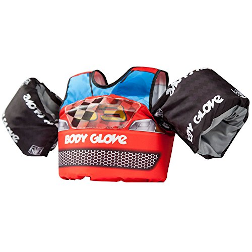 - Body Glove 13226H Kids 13226M Paddle Pals Motion Swim Life Jacket, Race Car