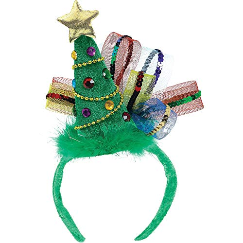 Christmas Clothes For Women (Christmas Tree Fashion Headband, 8