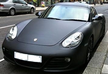 Matte Black Car Wrap >> Simcarbon Matte Black Flat Black Vinyl Vehicle Wrap 60 X 72 Sheet