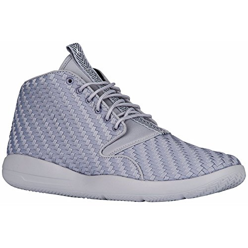 detailed look 969ae f9a37 Galleon - Jordan Nike Men s Eclipse Chukka Grey Woven Textile Basketball  Shoes 11