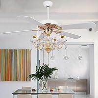 Ventilador de techo moderna luz de las velas ventilador de