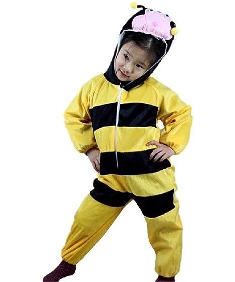 EVRYLON Disfraz de Abeja Unisex Disfraz de Carnaval Disfraz 6/7 ...
