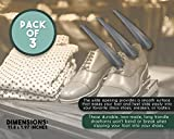 3-Pack Iron Shoe Horns - Portable Sized Metal
