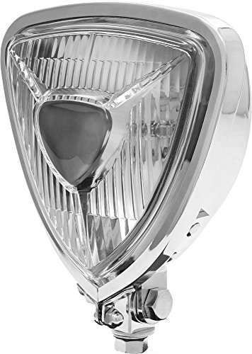West-Eagle Motorcycle Products 5841 Triangle Headlight - ()