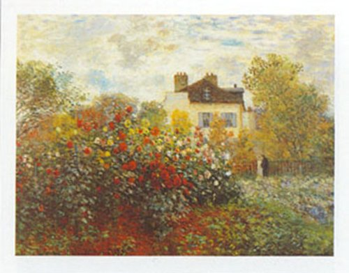 Buyartforless The Artist's Garden by Claude Monet 16x20 Art Print Poster