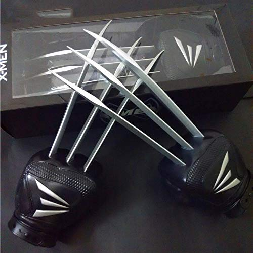(VIET FG 1;1 Scale One Pair X-Men Wolverine Claws Soft Plastic + Abs Materials in Boxed for Children -Complete Series Merchandise)
