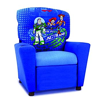 Toy Story 3 Kids Recliner in Blue