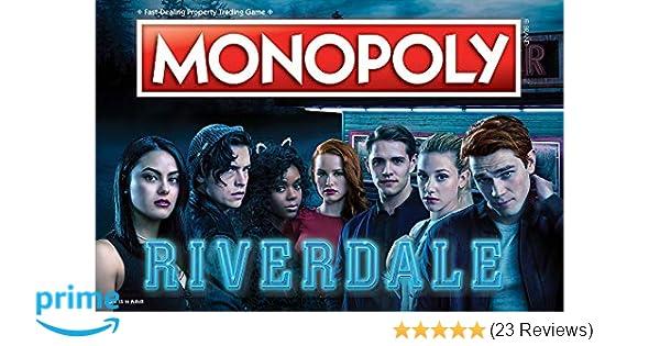 52f25c4f424e10 Amazon.com  Monopoly Riverdale Board Game
