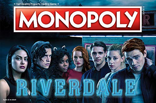 Monopoly Riverdale Board Game | Official Riverdale Merchandise | Based On The Popular CW Show Riverdale | A Great Riverdale Gift for Show Fans ()