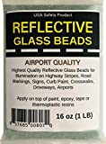 Reflective Glass Beads (1 LB Bag)   for Road