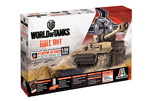 Italeri 56501 1/56 World of Tanks Pz.Kpfw.VI Tiger