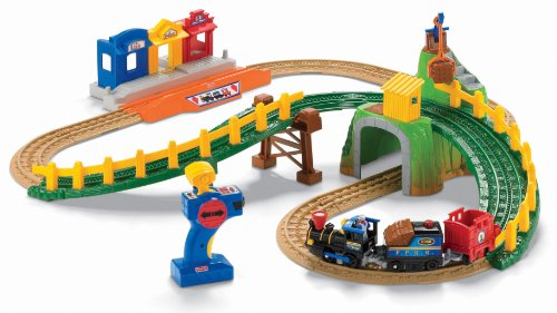 Fisher-Price GeoTrax Remote Control Timbertown Railway (Geotrax Train Remote Control)
