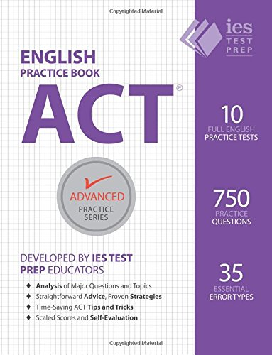 ACT English Practice Book Advanced product image