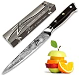 Kitchen 67 ZELITE INFINITY Utility Knife 6 - Petty Knives -Best Quality Japanese VG10 Super Steel 67 Layer High Carbon Stainless Steel-Razor Sharp, Superb Edge Retention, Stain & Corrosion Resistant Full Tang