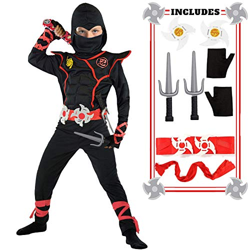 Toys R Us Childrens Halloween Costumes (Ninja Costume for Boys Halloween Kids Costumes Boy Ninja Muscle Costumes Best Kids Gifts)