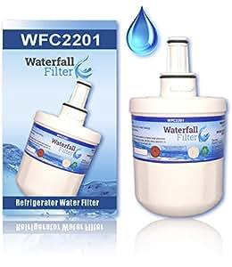 Waterfall Filter DA29-00003G Refrigerator Water Filter, Compatible with Samsung DA29-00003G