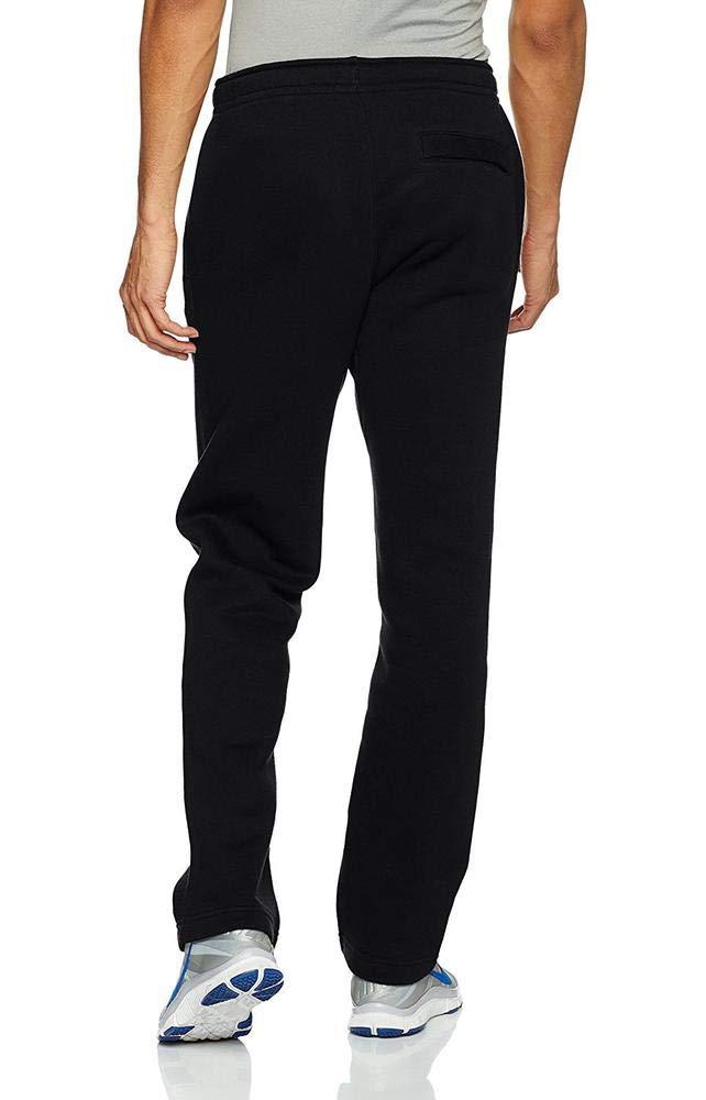 Men's Nike Sportswear Club Sweatpant, Fleece Sweatpants for Men with Pockets, Black/White, M by Nike (Image #4)