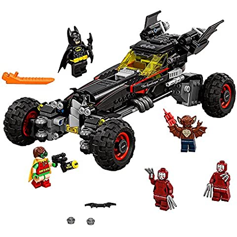 LEGO BATMAN MOVIE The Batmobile 70905 Building Kit (Legos Movie For Boys)