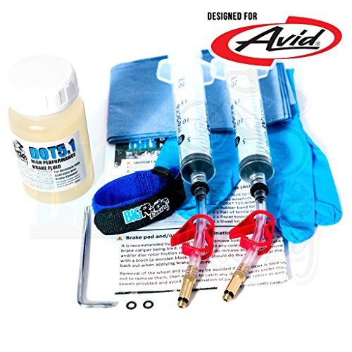 Formula Adaptor Kit (Brake Bleed Kit for Avid & Formula Hydraulic Brakes (inc 100ml DOT 5.1 Fluid))