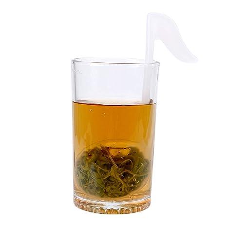 NNMNBV - Bolsas de té vacías con Forma de Nota Musical de plástico