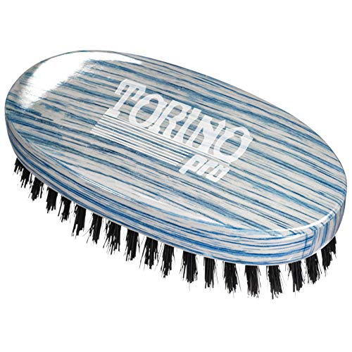 (Torino Pro Wave Brushes By Brush King #33- Medium Hard Oval Palm Brush - Great for wolfing - For 360)