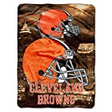Cleveland Browns Extra Large Plush Blanket