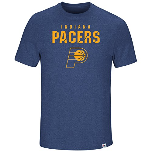 (Majestic NBA Men's Hot Picks Tri-Blend T-Shirt (Small, Indiana Pacers))