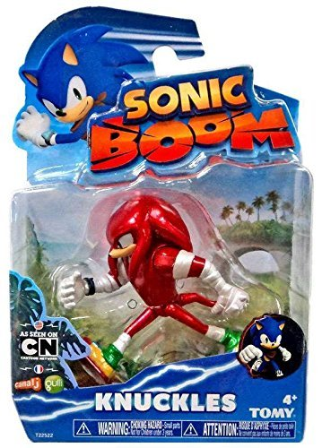 Sonic The Hedgehog Sonic Boom Boom Sonic Knuckles 3 Action Figure [Metallic] by Sonic The Hedgehog 21acfb