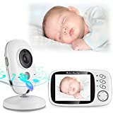 Baby Monitor 3.2inch LCD Display Video Baby Monitor with Night Vision and Temperature Monitoring and Lullabies Review