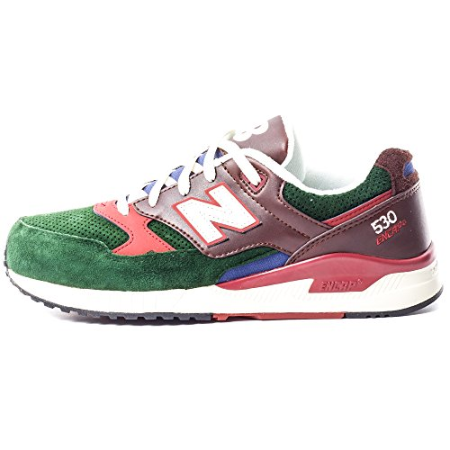 New Balance Mens 530 Summer Waves Collection Lifestyle Sneaker Marrone / Verde